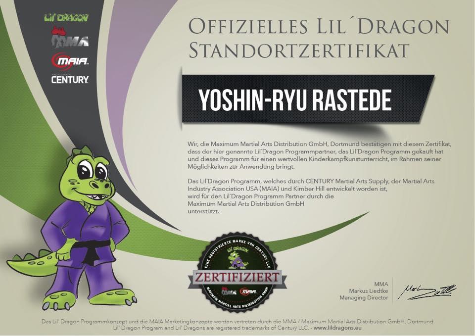Zertifikat LilDragon